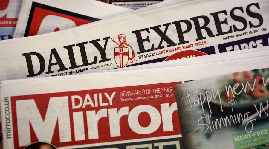 journaux britanniques